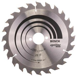Pilový kotouč Construct Wood, pr. 190 mm, 24 zubů