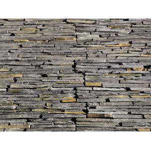 Obkladový přírodní kámen DEKSTONE N 3005 plošný lepený hrubý – 55x15x2,5-3,5cm