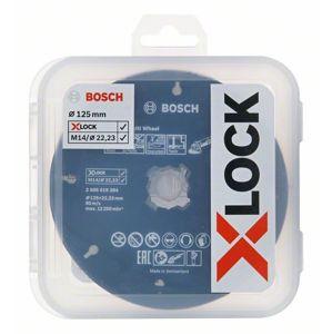 Sada řezných a lamelových kotoučů Bosch X-LOCK CMW 125×22,23 mm