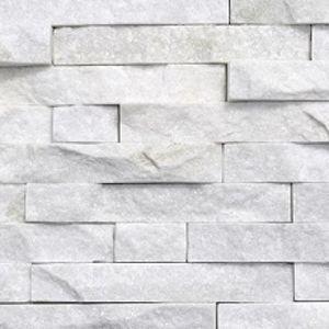 """Lepený rohový kamený díl DEKSTONE Q 014  rohy - """"Z""""  lepený – 15x(25+30)x0,5-2cm"""