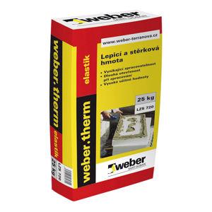 Cementová lepicí a stěrková hmota Weber.therm elastik, 25kg
