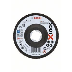 Kotouč lamelový Bosch Professional Best for Metal X571 X-LOCK 125 mm 40
