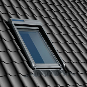 Velux roleta SSL 0000 308/MK08, předokenní, solární pohon, tmavě šedý hliník