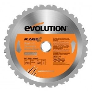 Pilový kotouč Evolution RAGE 3, 255×25 mm, 28 zubů