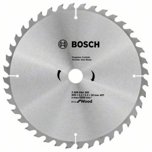 Kotouč pilový Bosch Eco for Wood 305×30×2,2 mm 40 z.
