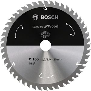 Kotouč pilový Bosch Standard for Wood AKU 165×20×1 mm 48 z.