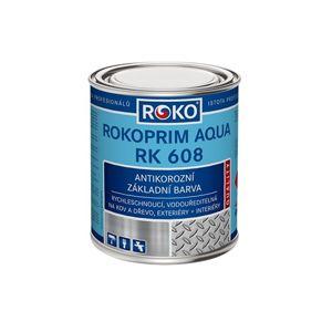 Barva  Rokoprim Aqua RK 608 0101 šedá 0,6 l