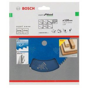 Kotouč pilový Bosch Expert for Wood 120×20×1,3 mm 12 z.