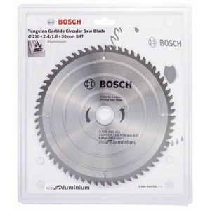 Kotouč pilový Bosch Eco for Aluminium 210×30×1,8 mm 64 z.