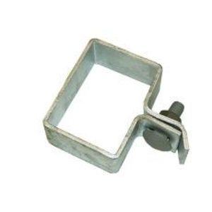 Objímka koncová z pozinkované oceli pro sloupek bez děr průřezu 60x40 mm