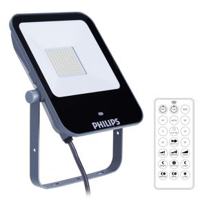 Reflektor LED s čidlem Philips Ledinaire, 3000K, 50W, IP65