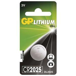 Baterie lithiová knoflíková GP CR2025 (1 ks/bal)