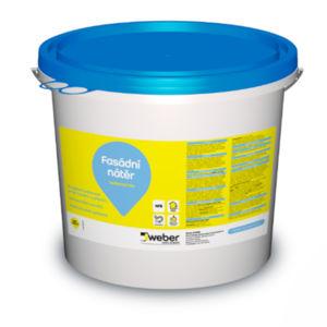 Biocidní fasádní nátěr Weber.ton bio, bezpříplatkový odstín, 5kg