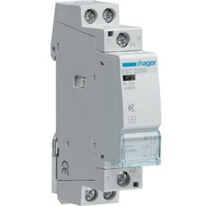 Stykač 25 A 230 V 2S snížená hlučnost, Hager ESC225S