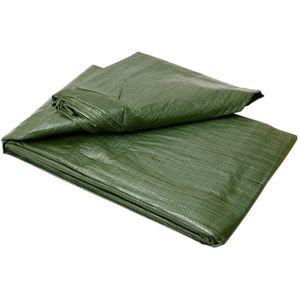 Zakrývací plachta BASIC zelená 50g, rozměr 3×4 m