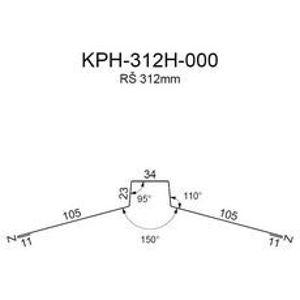 Hřebenáč RS312H-150 SP25 RAL8017 0,50mm 2bm