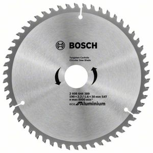 Kotouč pilový Bosch Eco for Aluminium 190×30×1,6 mm 54 z.
