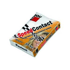 Minerální lepicí a stěrková hmota Baumit SpeedContact na bázi cementu, 25kg