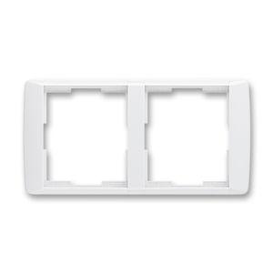 Rámeček dvojnásobný vodorovný Element bílá