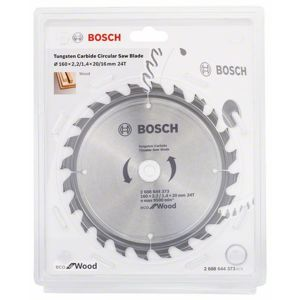 Kotouč pilový Bosch Eco for Wood 160×20×1,4 mm 24 z. 10 ks