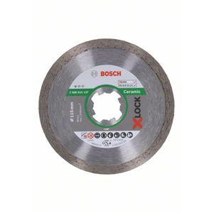 Kotouč řezný diamantový Bosch Professional Standard for Ceramic X-LOCK 115×1,6×7 mm