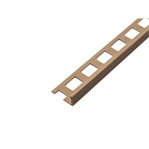 Lišta L PVC ACARA TOP 10 mm/2,5 m bílá