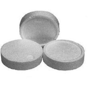 Systémová polystyrenová zátka STR Rondelle EPS šedá 65 mm pro zápustnou montáž hmoždinek EJOT