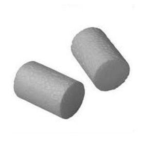 Systémová polystyrenová zátka malá STR PS bílá pro povrchovou montáž hmoždinek EJOT